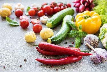 Set de légumes